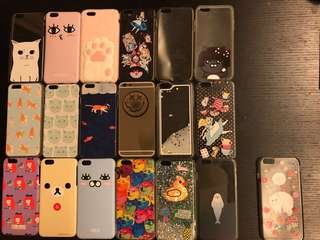Iphone 6 s plus case franche lippee $100全要