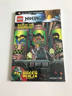 Lego Ninjago Comic : Night of the Nindroids