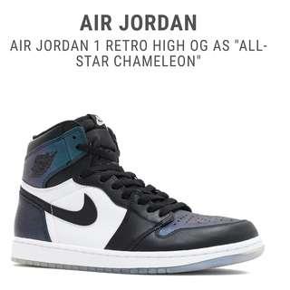 Jordan 1 Retro Chameleon UA 1:1