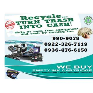Highly buying Demand Buyer of empty Ink Cartridges and Toner