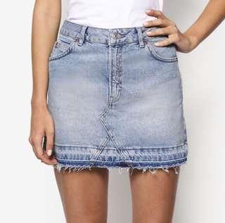 TOPSHOP motto skirt