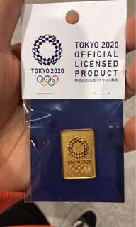 Authentic Tokyo 2020 pin (New)