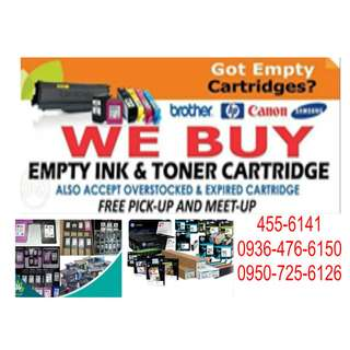 Highest buying Price Brand new Expired Overstock Buyer Of Empty Ink Cartridges and Toner