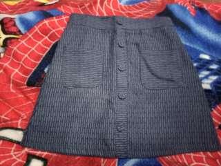Landmark Navy Blue Skirt