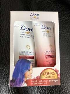 Dove - Advanced Hair Series Set for Regenerative Nourishment
