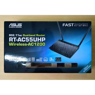 Asus RT-AC55UHP Dual Band High-Powered Wireless AC1200 Gigabit Router (3-month Warranty Left)