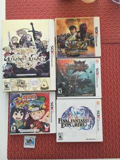 Selling 3DS games