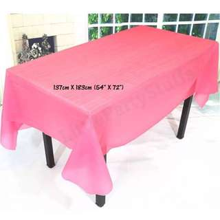 Party Tablecloth (Red)