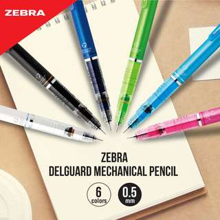 Zebra DelGuard Anti-break Core Mechanical Pencil - 0.5 mm