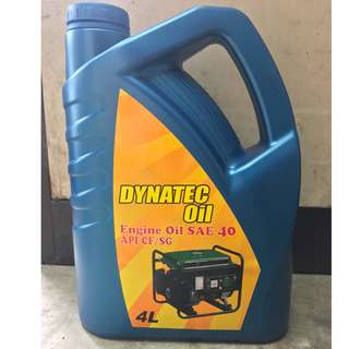DYNATEC Engine Oil SAE40API CD/SF ( 4 Litres )