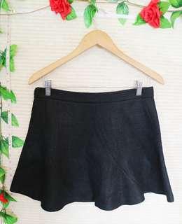 ⚡PRELOVED⚡Zara Woman Tweed Skater Skirt
