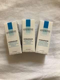 🚚 [買二送一]理膚寶水 水感全效超保濕精華3ml*2 送水感保濕晚安凝膜3ml