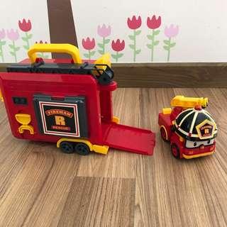 Robocar Poli - Carry Case and Transforming Roy