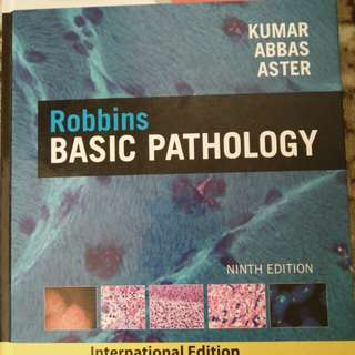 Medical Book Robbins Basic Pathology