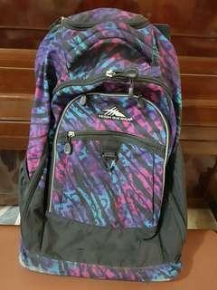 High Sierra Rolling Backpack