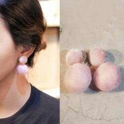 Antingpompom mascara eyeliner antingkorea aksesories