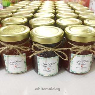 45ml Mini Jar Filled Wedding Favor Berkat