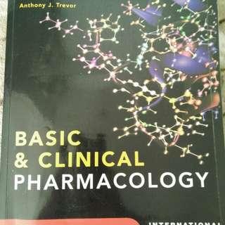 Lange Pharmacology