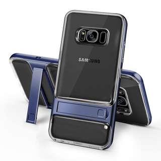 Samsung Galaxy S8/S8+ Luxury PC frame + TPU Silicone Case