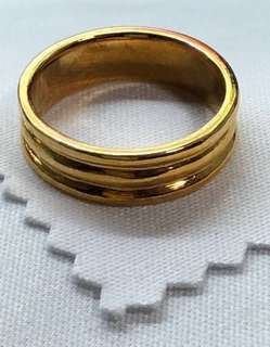 Lovely Gold 916 - Gold Ring ❤️❤️❤️