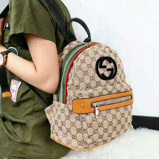 Gucci Verdies Sign Measurement Backpack