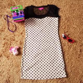 Candie's Polka Dots Dress