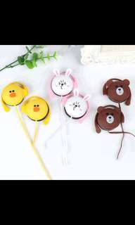 LINE friends headset