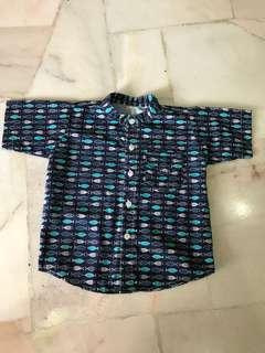 Kid short sleeve shirt