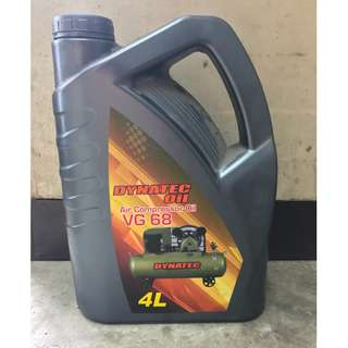 DYNATEC Air Compressor Oil VG68 ( 4 Litres )
