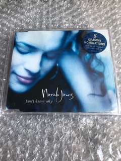 Norah Jones Cd Single - Don't Know Why