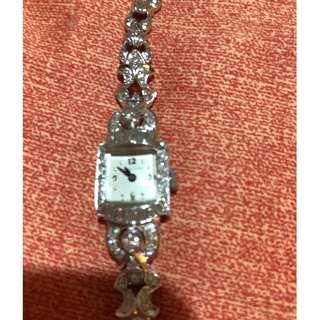 二手 Hamilton 鑽石女裝錶