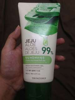 The face Jeju soothing aloevera