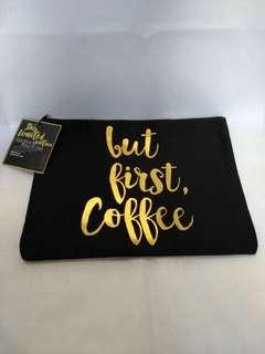 🚚 BN limited edition Starbucks denim pouch