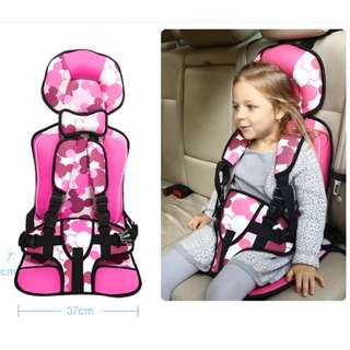 Baby Car Seat Pink/ Blue (2 years- 12 years)