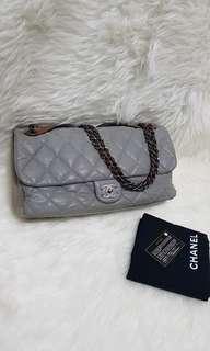 Authentic chanel grey