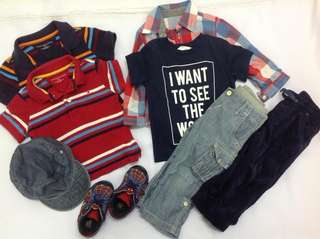 Boys Clothes 12-18 months #midyearsale