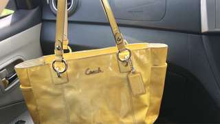 Coach tote bags leather (shoulder bags)