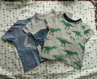 baby gap shirt bundle
