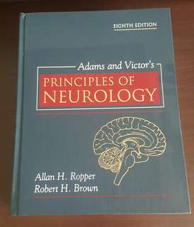 NEUROLOGY & Neuroanatomy (Adams and Victor, Snell)