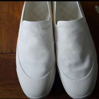 Uniqlo white shoes
