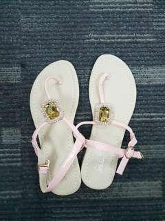 [Brand New!] Korean Jewel Thong Sandals