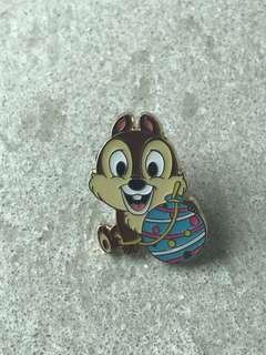 日本廸士尼 Disney 鋼牙襟章 徽章 非賣品