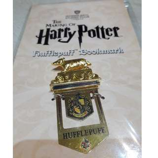 Hufflepuff Harry Potter bookmark