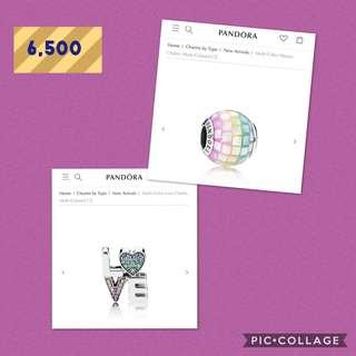 Pandora charms - Layaway Edition
