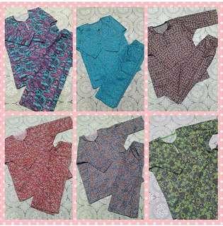 Cotton Baju Kurung