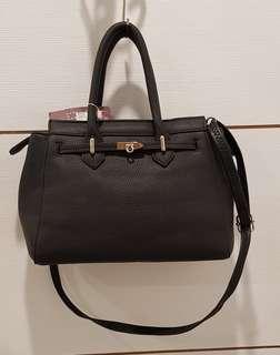 Hermes inpired 2 way sling & hand bag