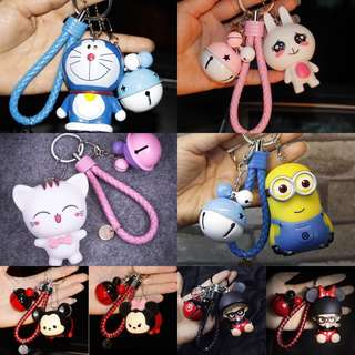 Rm 45 for 5 Free postage Tsum Tsum Keychain