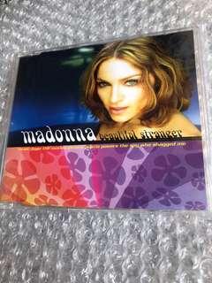 Madonna Cd Single - Beautiful Stranger