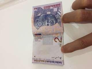 Malaysia old money -rm2