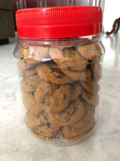 Chocolate chip cookies/double chocolate chip cookies